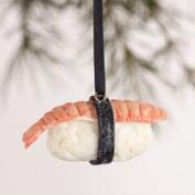Clay Sushi Ornaments, Set of 3