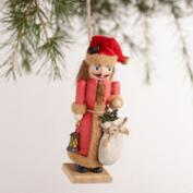 Rustic Nutcracker Ornaments, Set of 2
