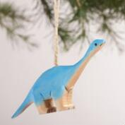 Wood Dinosaur Ornaments, Set of 3
