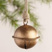 Metal Jingle Bell Ornaments, Set of 3