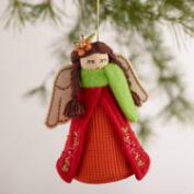 Fabric Angel Ornaments, Set of 3