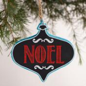 Chalkboard Message Ornaments, Set of 3