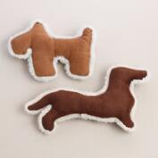 Scottie and Dachshund Dog Toys, Set of 2