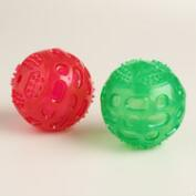 2 Piece Rubber Ball Dog Toys, Set of 2