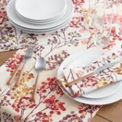 Silver Dollar Trees Table Linen Collection