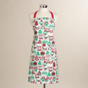 Red and Green Angels Apron