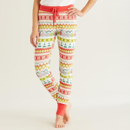 Fair Isle Pajama Pants