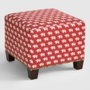 Red Elephant McKenzie Upholstered Ottoman