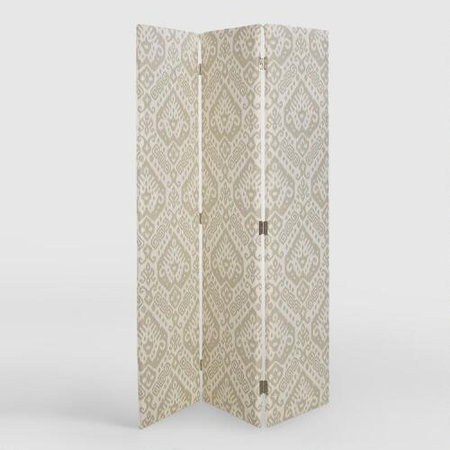 Dove Safi Upholstered Screen