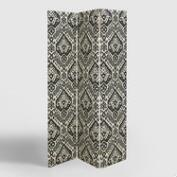 Charcoal Safi Upholstered Screen
