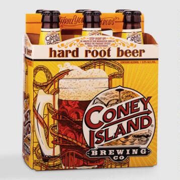 Coney Island Root Beer, 6 Pack