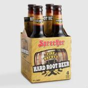 Sprecher Bourbon Barrel Hard Root Beer, 4 Pack