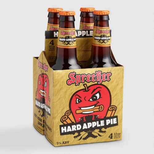 Sprecher Hard Apple Pie Beer, 4 Pack