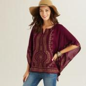 Wine and Gold Ora Kaftan