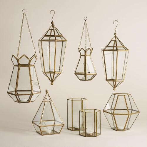 Faceted Lantern Collection