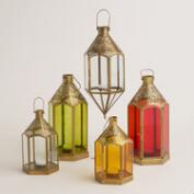 Glass and Metal Lantern Collection