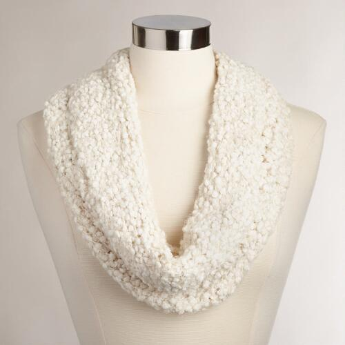 Ivory Nubby Snood