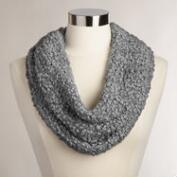 Gray Nubby Snood