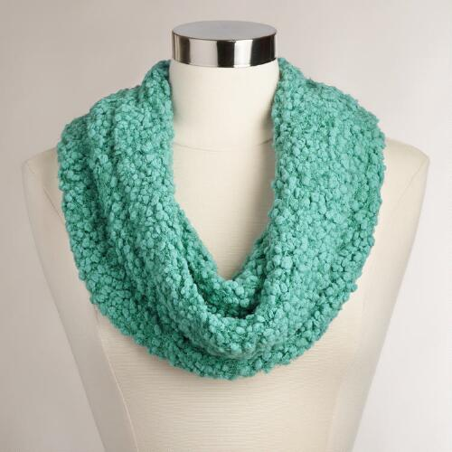 Green Nubby Snood