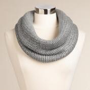 Gray and Silver Snood