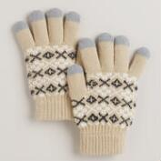 Taupe Tech Gloves