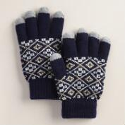 Navy Tech Gloves