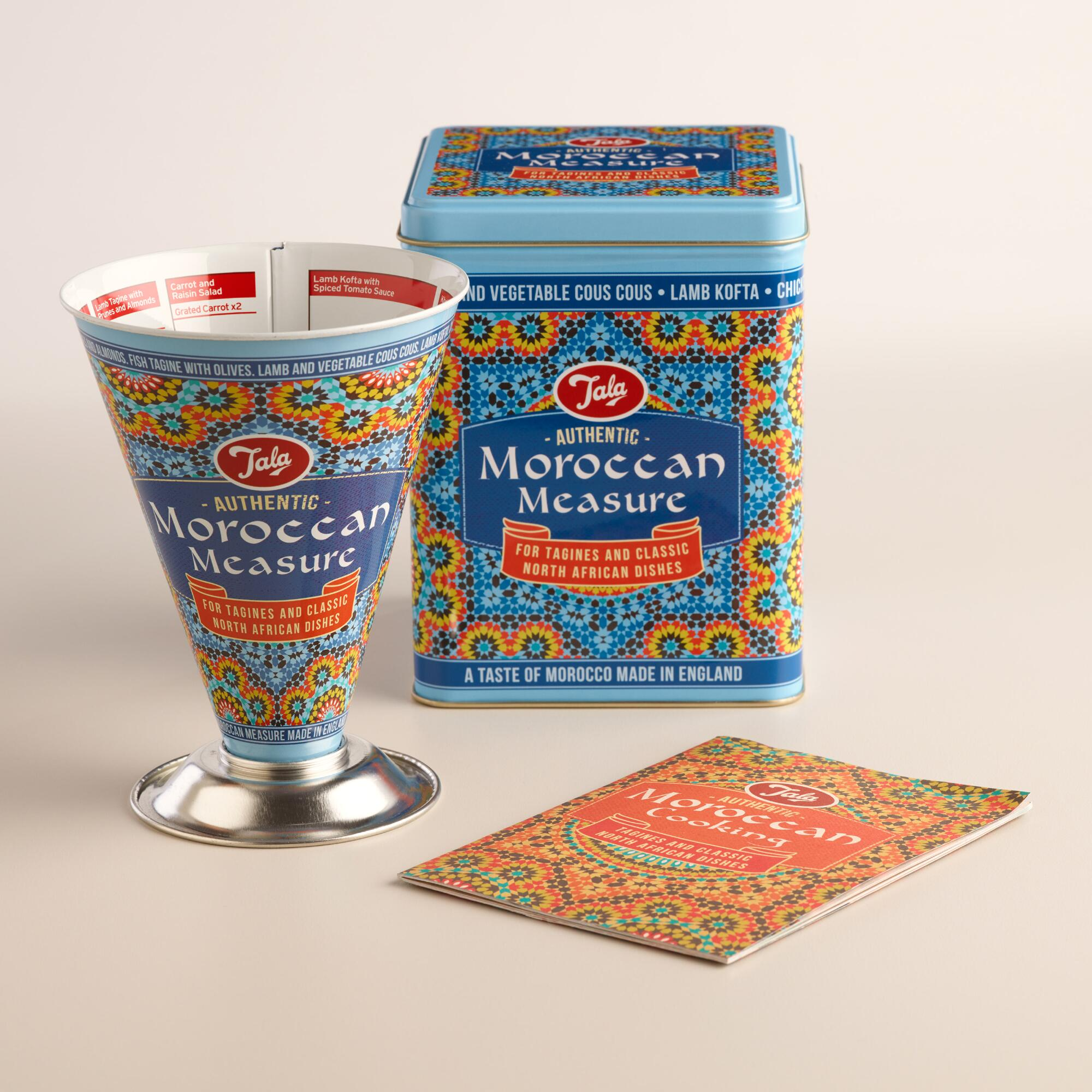 Authentic moroccan cuisine measuring cup world market for Authentic moroccan cuisine