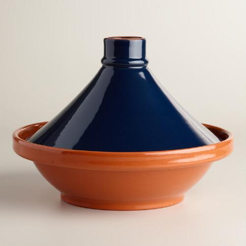 Blue Terracotta Tagine
