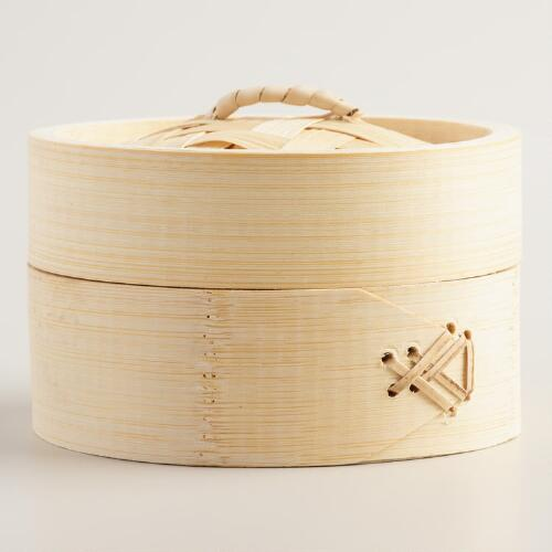 Mini Bamboo Steamer