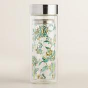 Tessie Floral Glass Tea Infuser Carafe