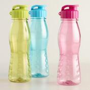 Flip Top Water Bottles Set of 3