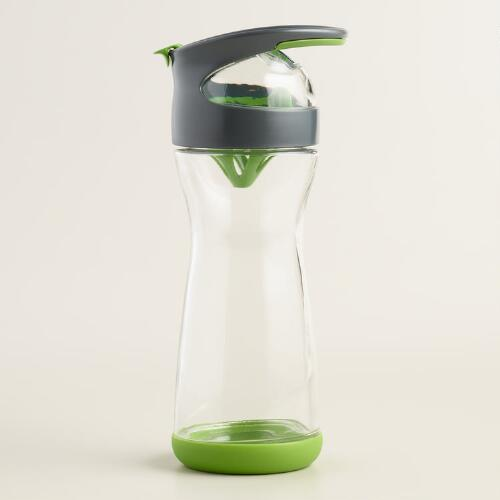 Glass Cucumber Water Travel Mug