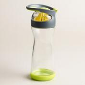 Glass Citrus Water Travel Mug