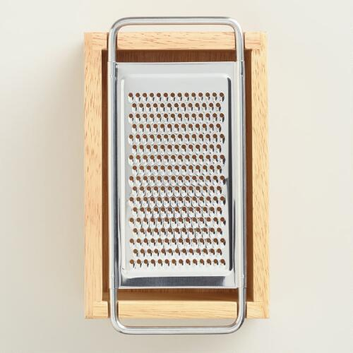 Wood Box Cheese Grater