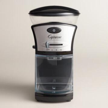 Capresso Electric Burr Coffee Grinder