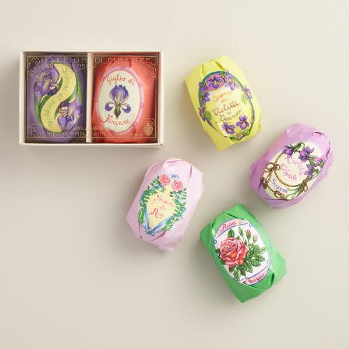 Sapone Floral Bar Soap Collection