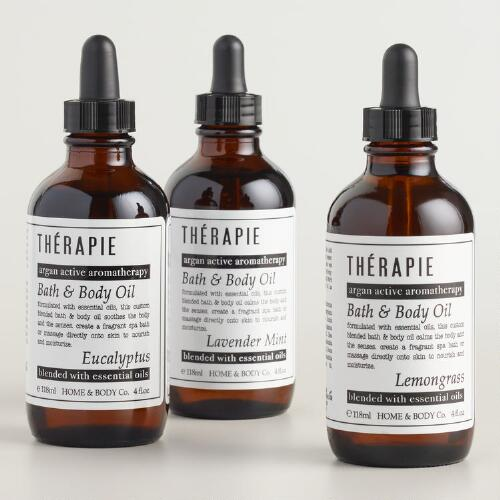 Therapie Scented Bath and Body Oil Collection
