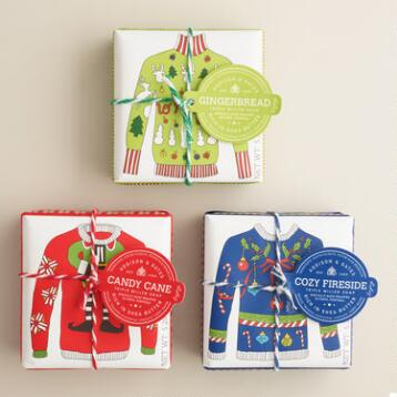A&G Ugly Sweater Bar Soap Collection