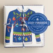 A&G Cozy Fireside Ugly Sweater Bar Soaps, Set of 2