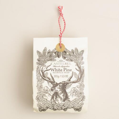 Castelbel White Pine Bagged Bar Soap