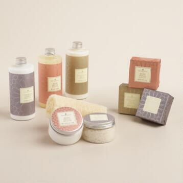 A&G Metallic Bath Gift Set Collection