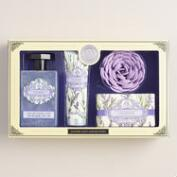 AAA Lavender 4-Piece Bath Gift Set