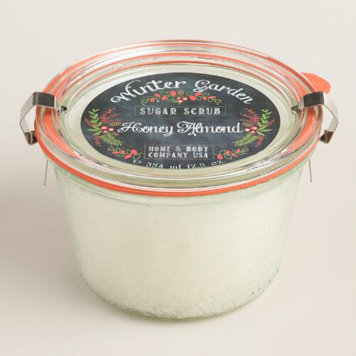 Winter Wonderland Honey Almond Sugar Scrub