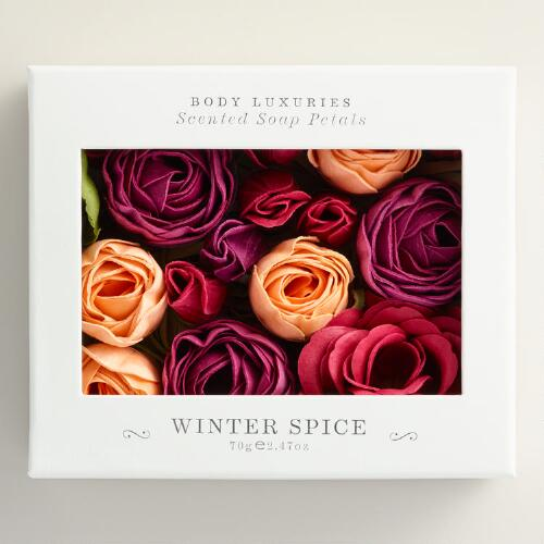 Winter Spice Soap Petals