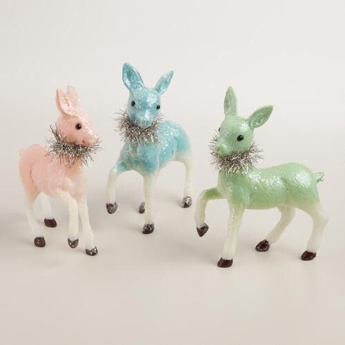 Retro Deer, Set of 3