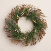 Frosty Twig Wreath