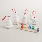 Paint Your Own Ornaments, 4 Pack