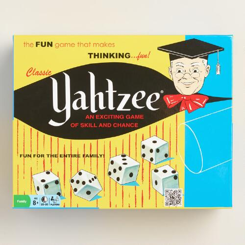 Retro Yahtzee Board Game