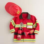Kids' Fire Chief Dress Up Costume Set