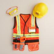 Kids' Construction Worker Dress Up Costume Set